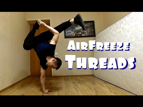 How To Air Freeze Thread Tutorial
