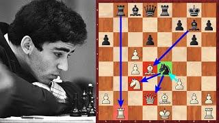 Юный КАСПАРОВ играет КАК КОМПЬЮТЕР! Шахматы