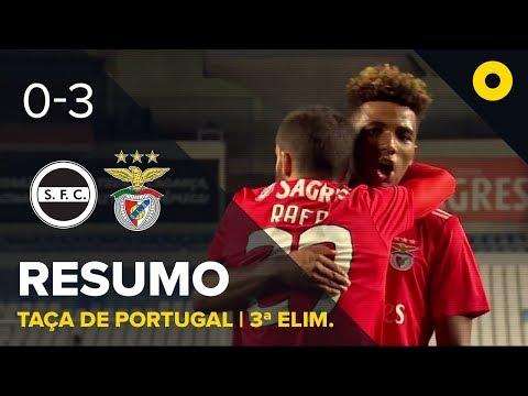Sertanense 0-3 Benfica - Resumo | SPORT TV