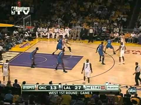 2010 NBA Playoffs Los Angeles Lakers Vs Oklahoma City Thunder Game 1 Part 3