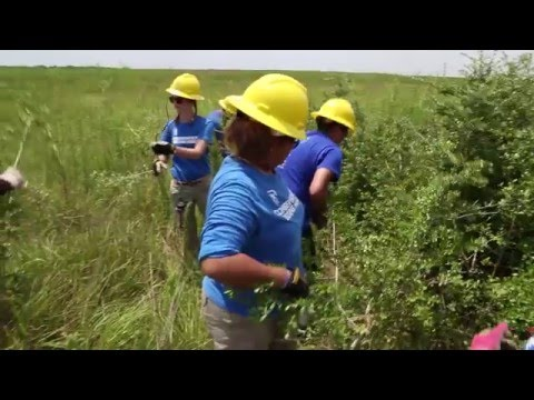 SCA Houston: Student Conservation Association and the U.S. Fish and Wildlife Service