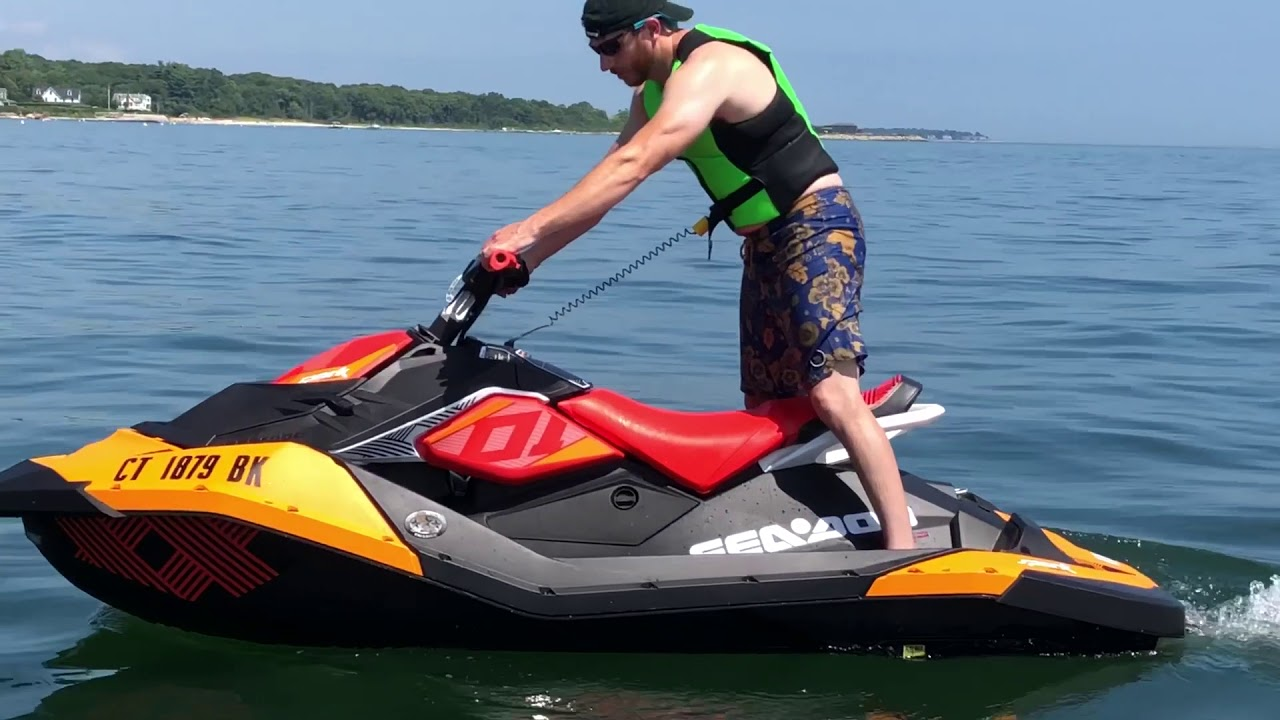 New Trixx?! Testing the 2018 Sea Doo Spark Trixx