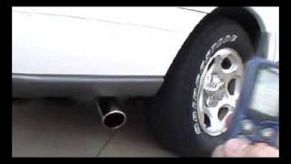 Lincoln Navigator, Headers, Flowmaster Super 40 Exhaust Sound (sold it)