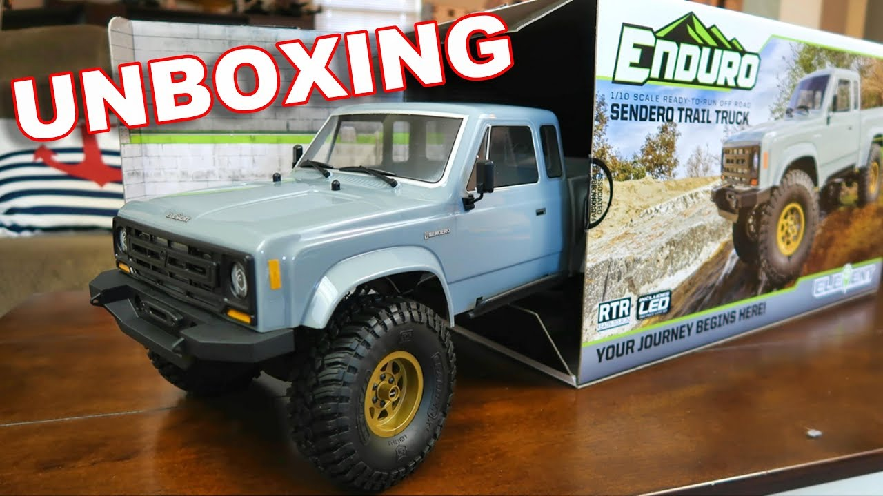 Element RC Enduro Sendero Trail Truck UNBOXING Our Newest 4WD Crawler -  TheRcSaylors