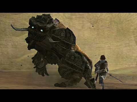 Shadow Of The Colossus OST - A Despair-Filled Farewell [edit]