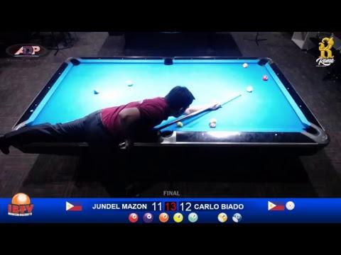 10 - ball jogja open international 2018 JUNDEL MAZON (PHI) VS CARLO BIADO (PHI) FINAL