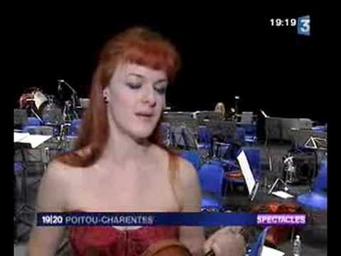 Rachel Kolly d'Alba - french TV news - France3