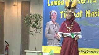 Juara I Alaisa Puja Djafar Final 08 Lomba Bercerita Nasional SD/MI  2014