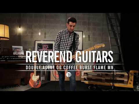 Reverend Double Agent OG Coffee Burst Flame MN