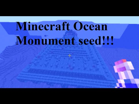 How To Make A Ocean Temple Mine Craft