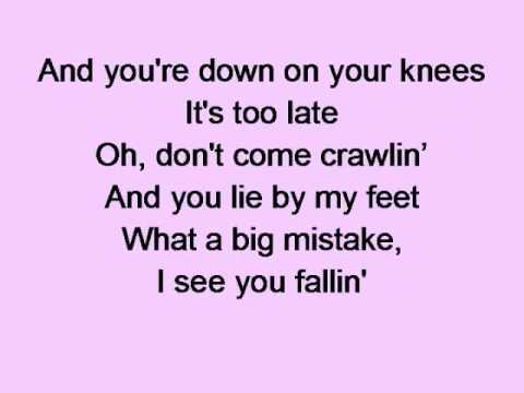 Natalie Imbruglia - Big Mistake Lyrics