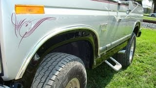 Ford Bronco Wheel Arch Repairs