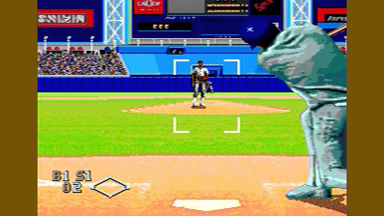 World Series Baseball Sega Genesis Youtube