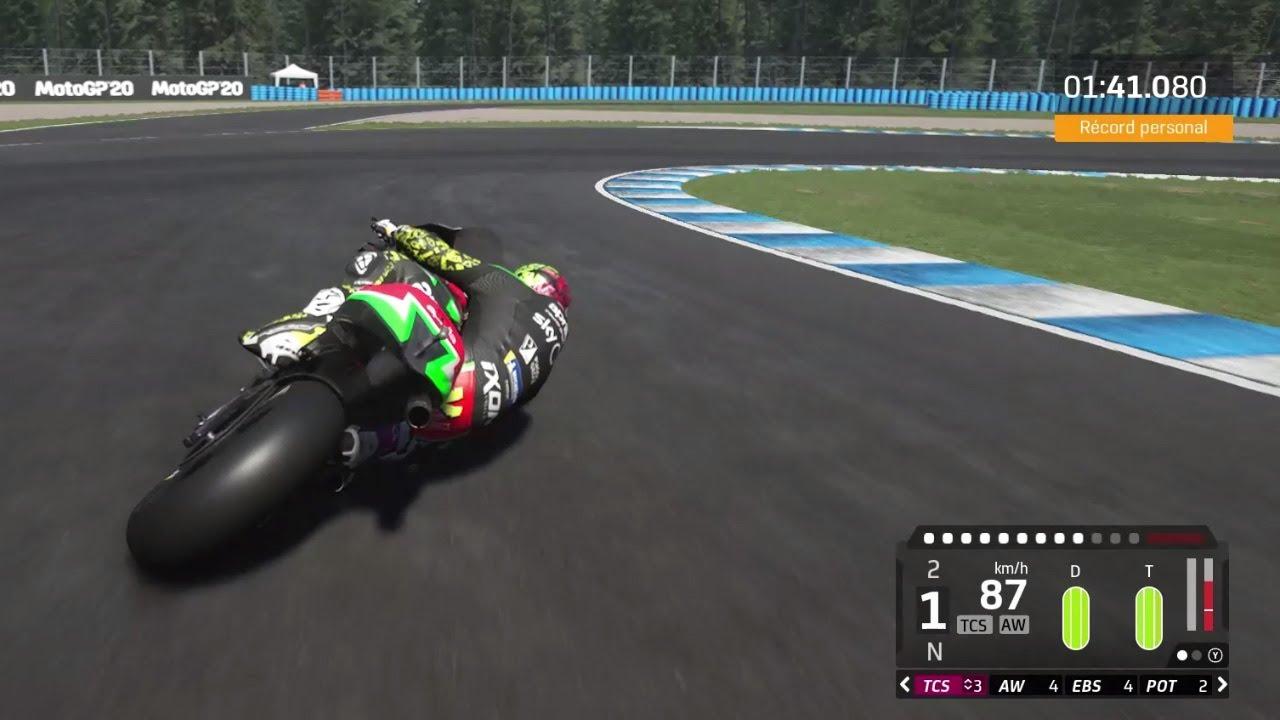 Kymi Ring circuit - virtual lap MotoGP20 video game