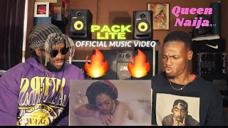 Queen Naija - Pack Lite (Official Video) *REACTION*