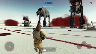 Star Wars Battlefront II - Galactic Assault - Bossk 02 (28 Kills) - PS4