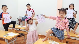 Kids Go To School | Chuns And You Learn Have Fun In The Classroom
