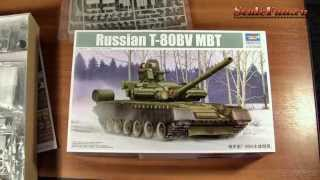 Trumpeter Russian T-80BV MBT 1/35