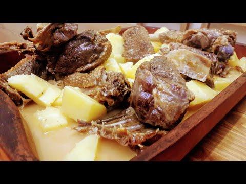 Kars Kazı Nasıl Pişirilir (Gose Meat Recipe)