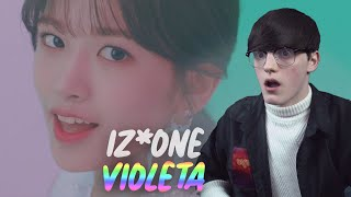 IZ*ONE (아이즈원) - 비올레타 (Violeta) MV Reaction!!