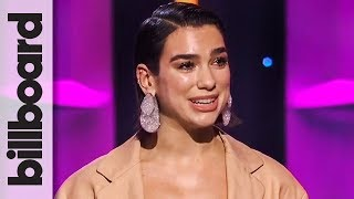 Dua Lipa Introduces Icon Award Recipient Cyndi Lauper | Women in Music