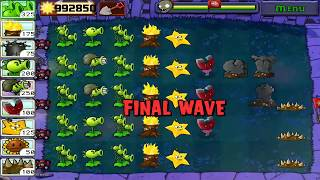 Plants Vs Zombies Full Coin  Gameplay Hunter Zombie night 1
