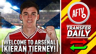 Welcome To Arsenal Kieran Tierney! | The Gunners Get Their Man
