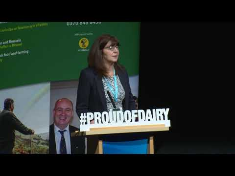 Lesley Griffiths, Cabinet Secretary for Environment and Rural Affairs, Welsh Government