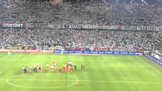 Legia - Jagiellonia  1-0 Przepychanka na koniec meczu
