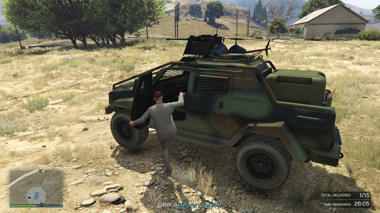I tried to deliver 3 Merryweather Insurgents on a SOLO BUNKER SELL as CEO in GTA Online