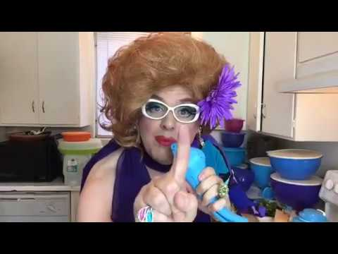 Aunt Cassie Tupperware - Sings Broadway tunes AND makes salsa