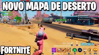 Fortnite - NOVO MAPA DE DESERTO NO SALVE O MUNDO