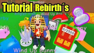 TUTORIAL FOR QUICK AND EASY REBIRTHS ? ROBLOX Paper Ball Simulator