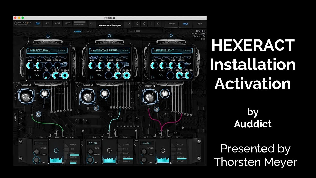 hexeract synth review