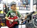 50 aniq arman electric guitar cover holiday greenday