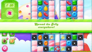 Candy Crush Jelly Saga Level 1479 (3 stars, No boosters)