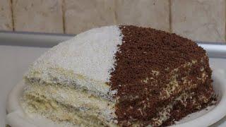 Торт ДЕНЬ и НОЧЬ КЛАССИЧЕСКИЙ рецепт торта  ОЧЕНЬ ВКУСНЫЙ торт Рецепты тортов Cake decorating
