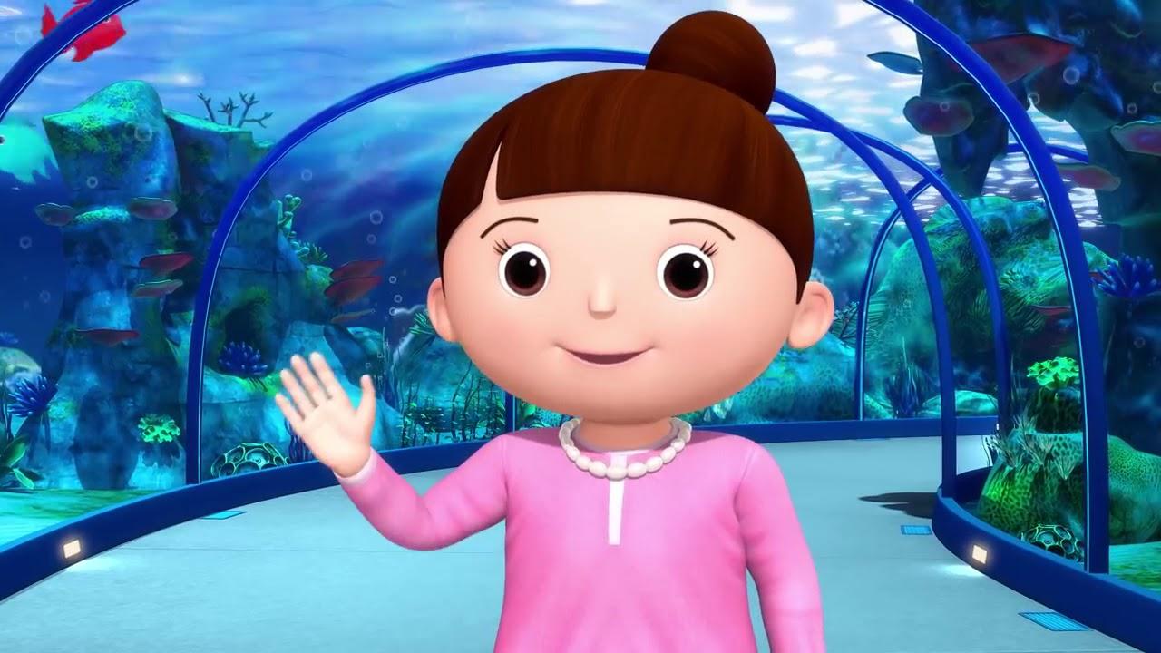 Baby Shark Dance! Nursery Rhymes By LittleBabyBum! - YouTube