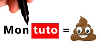 Mon TUTO traduit par Youtube #1