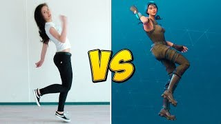 Fortnite Dance in Real Life Redanced - Stagione 4 Danze