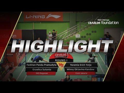 Yeremia Erich/Winny Oktavina Kandow (SKO Ragunan) VS Farkhan Pandu/Enzelica Sutanto (Exist Jakarta)