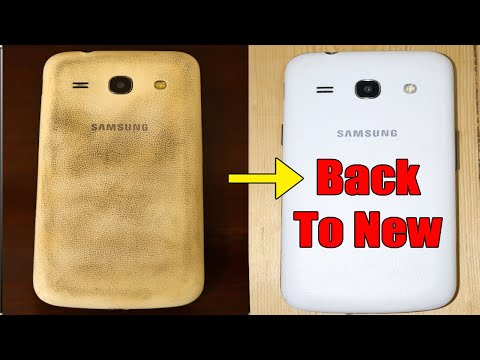 How to Remove/Clean Scratches from Mobile Back Cover | Remove Scratches from and Polish It Back to N