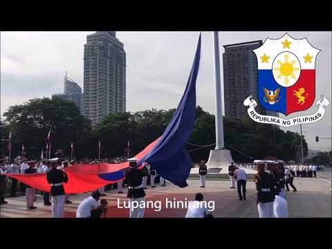 National Anthem of Philippines - Lupang Hinirang