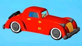 Играем в конструктор - МАШИНКА - Видео для детей.(Давай поиграем в конструктор! Соберем красивую красную машинку из 3D деталек в развивающем мультике-констру..., 2015-03-05T07:53:55.000Z)