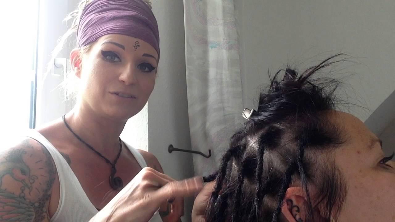 Shapati At Work Sehr Dünnes Haar Und Dreadsgeht Das Youtube