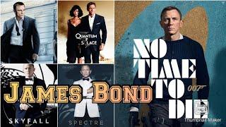 All James Bond 007 Movies Trailers Daniel Craig 2005-2020