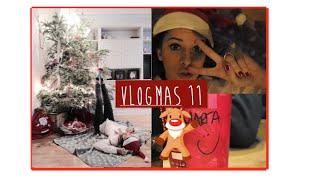 Decorando el árbol de navidad & Welcome bags | Vlogmas 11 Thumbnail