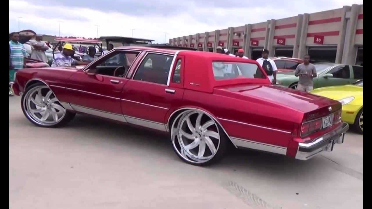 "Candy Red Box Chevy On 26"" Forgiato Azioni Wheels - YouTube"