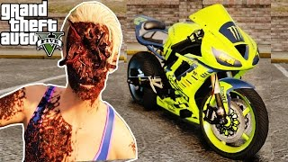 GTA 5 - Bike Crash Montage