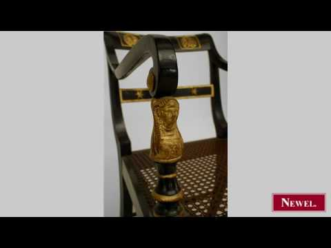 Antique Set of 4 English Regency style (19th Cent) gilt